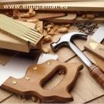 Darbas įvairiuose statybos objektuose. Oficialus įdarbinimas
