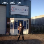 Garage12Volt auto salonas Olandijoje siūlo paslaugas: