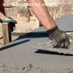 Ieskomi betonuotojai darbui -