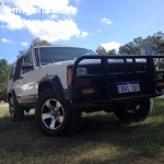 JEEP CHEROKEE 4x4 WA REGO BED INSIDE