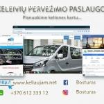 Keleivių pervežimo paslaugos Lietuvoje / oro uostai ir keltai