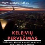 Keleivių pervežimo paslaugos Lietuvoje