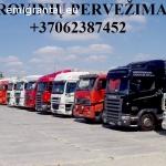 KROVINIŲ GABENIMAS : į Airiją, iš Airijos •Pilnų / Dalinių krovinių pervežimas  į / iš Airijos.  ( Negabaritinių krovinių pervežimas ; Pavojingų krovinių pervežimas ; Automobilių pervežimas ; Express krovinių pervežimas ; Krovinių su temperatūriniu režimu per