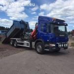 Krovinių pervežimas sunkvezimiu Stockholme ir aplink