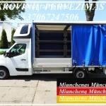 Perkraustymo Paslaugos - Krovinių Pervežimas iš / į Miunchenas München