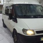 Skubiai pardudu Ispaniskos registracijos Ford Tranzit T350