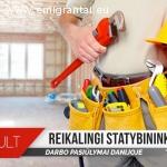 Statybų darbai Danijoje